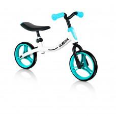 Беговел Globber Go Bike белый-синий до 20кг от 2 лет