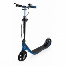 Самокат Globber One Nl 205 Deluxe черно-синий до 100кг от 1.55м 2 колеса