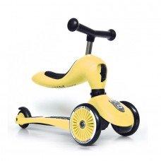 Самокат Scoot and Ride Highwaykick 1 лимон до 3 лет
