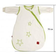 Детский демисезонный конверт человечек Kaiser Star бежевый 70 см
