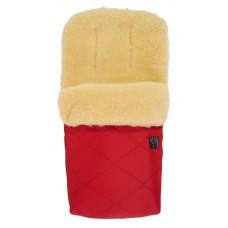 Зимний конверт овчина Kaiser Natura красный