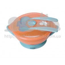 Набор детской посуды Сенсо с термо чувствительностью 6мес