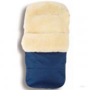 Зимний конверт овчина Kaiser Natura синий