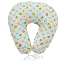 Подушка для кормления подкова Бежевые жучки