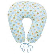 Подушка для беременных и для кормления голубые жучки