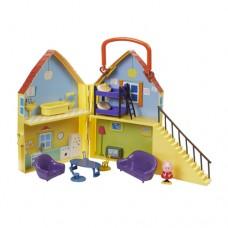 Игровой набор Peppa ДОМ ПЕППЫ домик с мебелью фигурка Пеппы