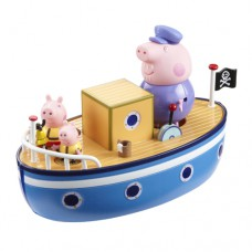 Игровой набор Peppa МОРСКОЕ ПРИКЛЮЧЕНИЕ кораблик 3 фигурки