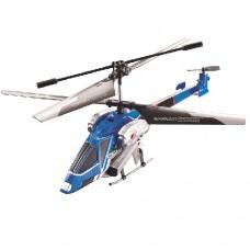 Вертолет на ИК управлении NAVIGATOR круиз-контроль синий 20 см