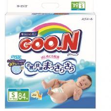 Подгузники Goon для детей 4-8 кг размер S унисекс 84 шт