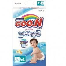 Подгузники Goon для детей 9-14 кг размер L унисекс 54 шт