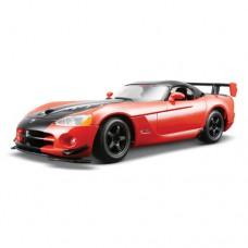 Модель авто Dodge Viper SRT10 ACR металлик 1к24