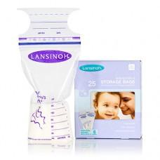 Пакеты для хранения и замораживания грудного молока 25 шт