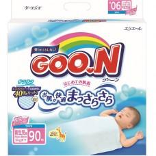 Подгузники Goon для новорожденных до 5 кг размер SS на липучках унисекс 90 шт