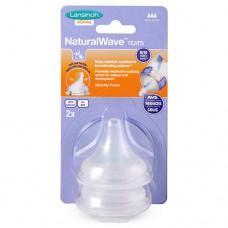 Соска кормления Natural Wave L быстрый поток 2 шт