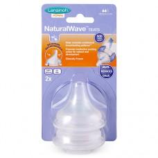 Соска кормления Natural Wave M средний поток 2 шт