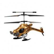 Вертолет на ИК управлении DARK STEALTH золотой 22 см 3-к гироскопом