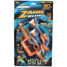 Игровое оружие АРБАЛЕТ ZANO 2 стрелы мишень оранжевый