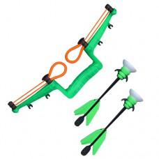 Игровое оружие АРБАЛЕТ ZANO 2 стрелы мишень зеленый