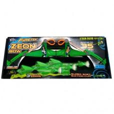 Игровое оружие АРБАЛЕТ ZEON 3 стрелы с подсветкой зеленый