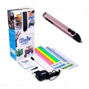 3D-ручка 3Doodler Create Розовый металлик 50 стержней из ABS-пластика