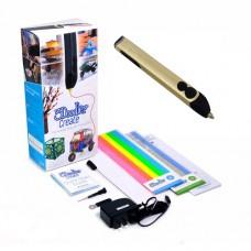 3D-ручка 3Doodler Create ЗОЛОТАЯ 50 стержней из ABS-пластика