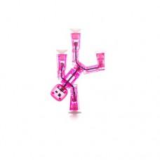 Фигурка для анимационного творчества Stikbot S1 розовый