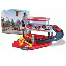Игровой набор Гараж Ferrari 2 уровня 1 машинка 1к43