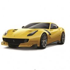 Машинка Ferrari F12TDF ассорти желтый красный 1к24