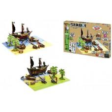 Игровой набор для анимационного творчества Stikbot S2 Остров Сокровищ
