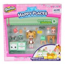 Игровой набор с куклой Happy Places S1 Кухня Коко Кукки 13 петкинсов