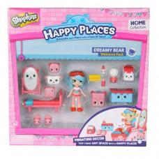 Игровой набор с куклой Happy Places S1 Спальня Джесси Кейк кукла 13 петкинсов
