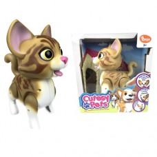 Интерактивная кошечка Cutesy Pets Дейзи размер 15см