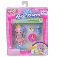 Кукла Happy Places S1 Радужная кейт 2 петкинса подставка