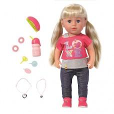 Кукла Baby Born Старшая сестренка 43 см с аксессуарами