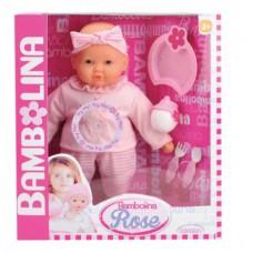 Говорящая кукла Bambolina Роза 38 см украинский