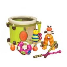 Музыкальная игрушка Парам-Пам-Пам 7 инструментов в барабане