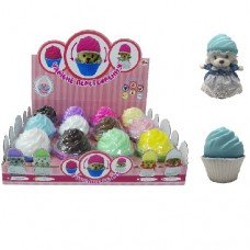 Мягкая игрушка Ароматные капкейки Милые Медвежата 12 видов