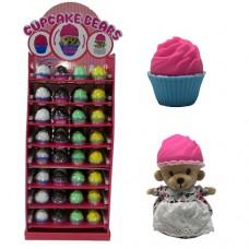 Мягкая игрушка Ароматные капкейки Милые Медвежата 96 видов