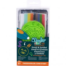 Набор аксессуаров для 3D-ручки 3Doodler Start Эмоджи 48 стержней 2 шаблона