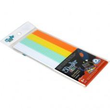 Набор стержней для 3D-ручки 3Doodler Start Микс 24 шт белый мятный желтый оранжевый