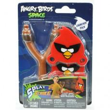 Набор ANGRY BIRDS SPACE РОГАТКА С ЛИПКИМИ ПТИЧКАМИ 2 птички