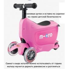 Самокат 3в1 Mini Micro 2go Pink new 2015