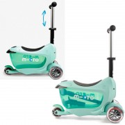 Самокат детский Mini Micro 2go  Deluxe Mint New 2016