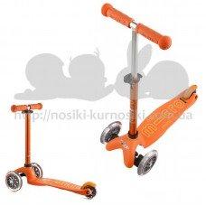 Самокат детский Mini Micro Deluxe Orange New 2016