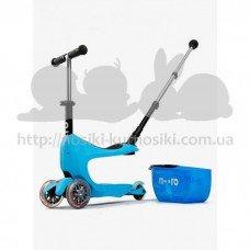 Самокат детский Mini Micro 2go Deluxe Blue plus