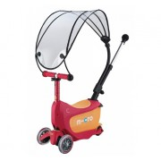 Самокат детский Mini Micro 2go Deluxe Ruby Red Canopy