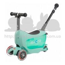Самокат Mini Micro 2go Deluxe Mint Plus