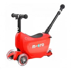 Самокат Mini Micro 2go Deluxe Red Plus