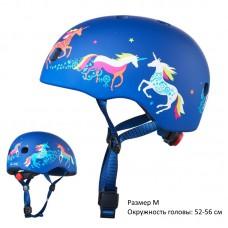 Шлем детский Единороги размер M