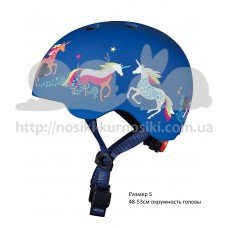 Шлем детский Единороги размер S